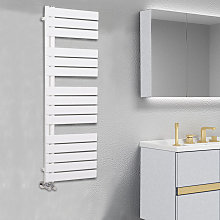 NRG - Designer Flat Towel Rail Radiator Bathroom