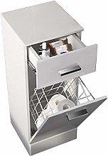 NRG Floor Standing Bathroom Cabinet White High
