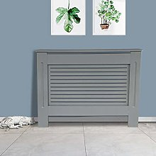 NRG Radiator Cover Grey MDF Painted Cabinet