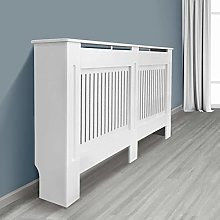 NRG Radiator Cover Vertical MDF Painted Cabinet