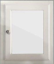 NRG Single Mirror Door Cabinet Wall Mounted