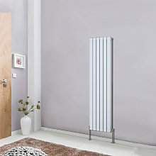 NRG - Tall Vertical Column Designer Radiator White