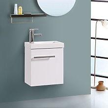 NRG - Wall Hung Vanity Sink Unit Bathroom Basin