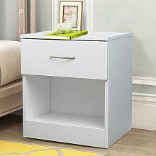 NRG White Chest of Drawer Bedroom Furniture