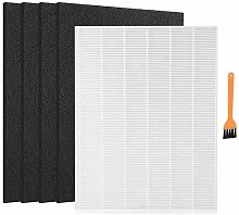 Nrpfell C545 True HEPA Replacement Filter for