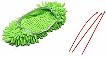 Nrpfell Dust Mop Slippers Shoes Floor Cleaner