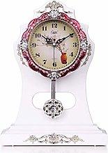 NSYNSY Classic Retro Desk Clock, Vintage Pendulum