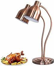NSYNSY Food Heat Lamp, Food Warmer Light with Bulb