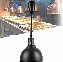 NSYNSY Food Heat Lamp Warmer with 250W Bulb for