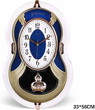 NSYNSY Retro Pendulum Wall Clocks, Westminster