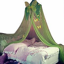 Ntribut Children Room Blue Stars Mosquito Net Bed