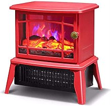 NTUPT Electric fireplace heater with flame effect