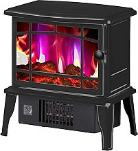 NTUPT Electric fireplace heating with flame effect