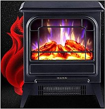 NTUPT Electric fireplace heating with realistic