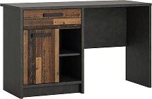 Nubi 1 Drawer Pedestal Desk