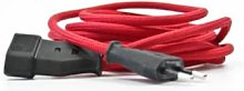 NUD Collection - 3m 1 Way Extension Cord - Red TT33