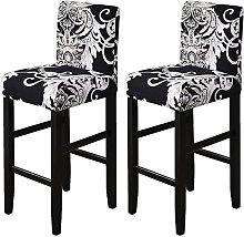 NUELLO Stretch Bar Chair Stool Covers, Stretch