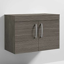 Nuie Athena Wall Hung 2-Door Vanity Unit and