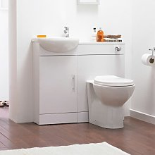 Nuie Sienna Combination Furniture Pack With WC