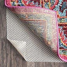 nuLOOM Rug Pad, Fabric, White, 8' x 10'