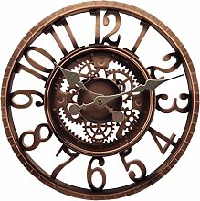 Number Wall Clock Courtyard Clock Large Outdoor