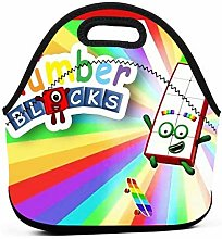 Numberblocks 14 Insulated Lunch Bag Tote Picnic