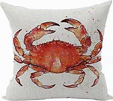 Nunubee Animal Cotton Pillowcase Linen Soft Home