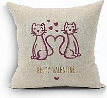 Nunubee Animal Cushion Covers Home Cotton
