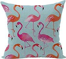 Nunubee Animal Decor Cotton Linen Home Pillow