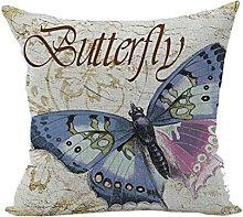 Nunubee Animal Home Pillowcase Soft Bed Square