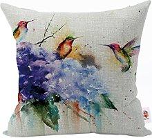 Nunubee Animal Pillow Cover Cotton Sofa Decor