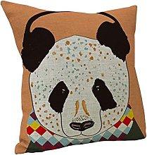 Nunubee Cotton Linen Cushion Cover 18X18