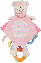 NUOBESTY Baby Security Blanket lovey Plush Animal