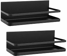 Nuokix Microwave Baker's Rack Magnetic Spice