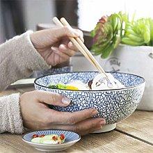 Nuokix QTQHOME Large Soup Ramen Noodle Bowl