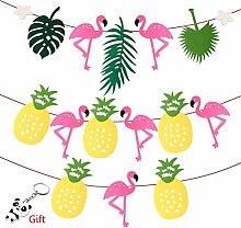 nuoshen 2 Pcs Hawaiian Tropical Party Decoration