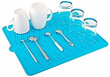 Nuovoware Silicone Dish Drying Mat, Easy Clean