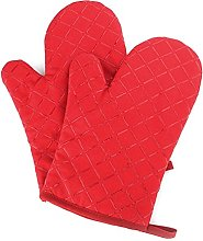 NuoYo 2 x Oven Mitts Silicone Oven Gloves with Non
