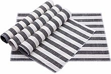 Nupuyai Cloth Placemats Set of 4 for Dining Table,