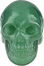Nupuyai Hand Carved Crystal Skull Statue for Home