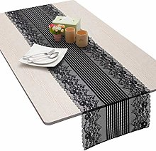 Nupuyai Lace Table Runner for Home Coffee Table,