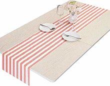 Nupuyai Stripe Table Runner for Party Wedding,
