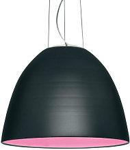 Nur Pendant by Artemide Grey/Black