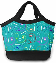 Nurse Medical Insulated Lunch Bag Leakproof