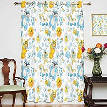 Nursery Blackout Curtain Its a Boy Image with