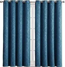 Nursery Blackout Curtains - Eyelet Curtain Drapes