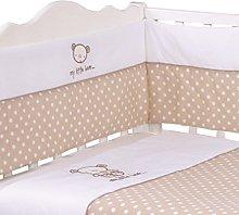 Nursery Cream My Little Bear Baby Bale Bedding Set