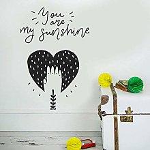 Nursery Decoration, You are My Sunshine, Baby Room