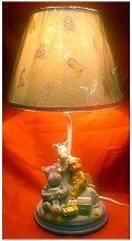 Nursery Lamp Blue