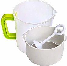 Nut Milk & Greek Yogurt Maker - Reusable & Durable